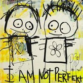 Poul Pava - Doek Not Perfect - 120x120 cm