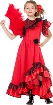 Spaanse jurk voor meisjes 128