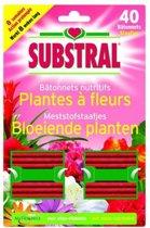 Meststofstaafjes bloeiende planten - 40 staafjes  - 4 sets