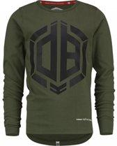 Vingino Jongens T-shirt - Olive Night - Maat 116