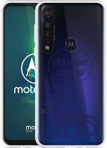 Motorola Moto G8 Plus Hoesje Life is too Short