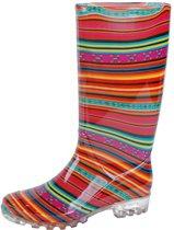 Gevavi Boots Lady dameslaars PVC roze 38