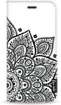 Casetastic Wallet Case White Samsung Galaxy A6 (2018) - Floral Mandala