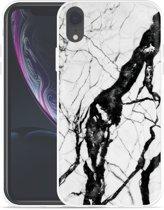 Apple iPhone Xr Hoesje Marmer Design