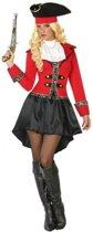 Kapitein piraat Grace verkleed pak/kostuum voor dames XL (42-44)