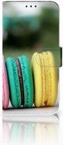 Honor View 20 Boekhoesje Design Macarons