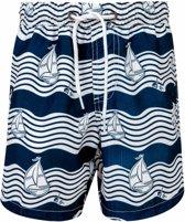 Snapper Rock UV werende Zwembroek Kinderen Ocean Explorer - Blauw - Maat 140-146