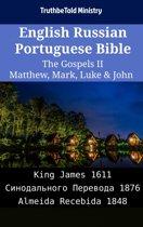 English Russian Portuguese Bible - The Gospels II - Matthew, Mark, Luke & John