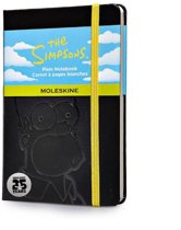 Moleskine notitieboek The Simpsons - Limited Edition - Pocket - Zwart - Blanco