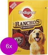 Pedigree Ranchos 70 g - Hondensnacks - 6 x Rund
