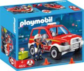 Playmobil Brandweer Interventiewagen - 4822