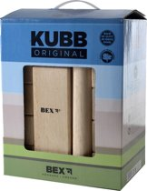 Bex Sport Original Kubb Blanco Koning - Rubberhout
