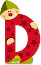Janod Clown Letter - letter D