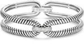 TI SENTO Milano Armband 2850ZI - Zilver witgoudverguld