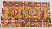 Goud Afrikaanse stof met mooi patroon (VBL14)