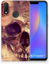 Huawei P Smart Plus Uniek TPU Hoesje Skullhead