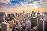 Papermoon Manhattan Skyline Vlies Fotobehang 350x260cm 7-Banen