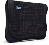 Built Neoprene Envelope voor de Apple iPad - Graphite Grid