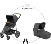 Koelstra kinderwagen Binque Daily denim black