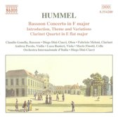 Hummel:Bassoon Con.Clarinet Qu