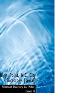 High Point, N.C. City Directory [Serial]