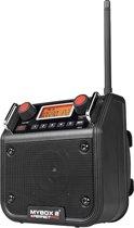 Werkradio Mybox 2 Zwart