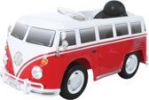 Volkswagen T1 Rood Met Afstandsbediening Elektrische Kinder Accu Auto