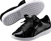 PUMA Vikky Ribbon P Sneakers Dames - Black-Black - Maat 40