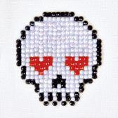 Diamond Dotz ® painting Sugar Skull (7,6x7,6 cm) - Diamond Painting
