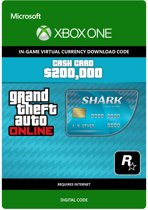 Grand Theft Auto V (GTA 5) - Tiger Shark Cash Card: $ 200.000 - Xbox One download