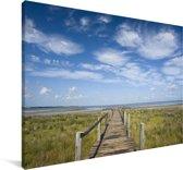 Het landschap van het iSimangaliso in Zuid-Afrika Canvas 120x80 cm - Foto print op Canvas schilderij (Wanddecoratie woonkamer / slaapkamer)