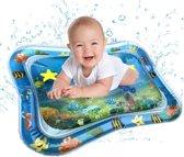 Baby Splash waterspeelmat - Baby Opblaasbare Waterspeelmat - Luxe speelmat - Baby Trainer - Water Speelmat - Baby shower - Kraamcadeau - Water speel mat - Aquamat - Speelgoed – watermat - Speelkleed