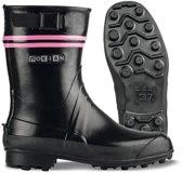 Nokian Footwear - Rubberlaarzen -Finntrim Black Edition- (Outdoor) zwart/roze, maat 36 [411-31-36]