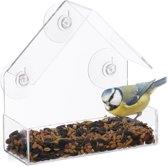 vogelvoederhuis raam - 3 zuignappen - voederstatio