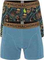 Muchachomalo boxershorts - 2-pack - Roots -  Maat M