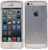 Apple iPhone 5 / 5s / SE Hoesje Schokbestendig Transparant TPU Backcover