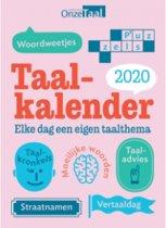 2020 taal-kalender onze taal
