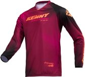 Kenny Crossshirt Performance Paradise Burgundy-L