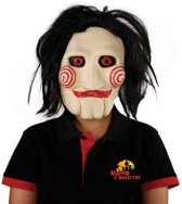 Saw masker (The Jigsaw) Deluxe