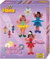 Hama Strijkkralen Flower Girls