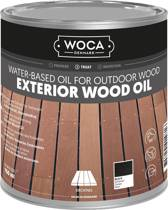 WOCA Exterior Oil ZWART - 750 ml