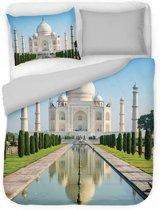 Dekbedovertrek Indian Mahal -  2-persoons (200 x 220 cm) - Katoensatijn - Meerkleurig   Multi   Multicolor - DLC