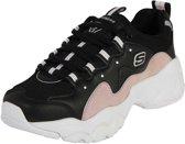 Skechers D'Lites 3.0 Zwarte Sneakers  Dames 41