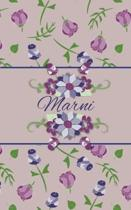 Marni: Small Personalized Journal for Women and Girls
