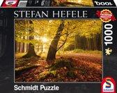 Magische herfst, 1000 stukjes Puzzel