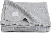 Jollein Basic Knit Deken - 75x100 Light Grey