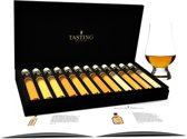 Tasting Collection Scotch Whisky Proeverij - 12.1 - 12 Tubes in Luxe Doos