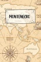 Montenegro: Liniertes Reisetagebuch Notizbuch oder Reise Notizheft liniert - Reisen Journal f�r M�nner und Frauen mit Linien