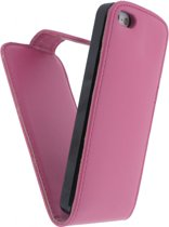 Xccess Leather Flip Case Apple iPhone 5 Pink