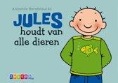 Jules kartonboekje - Jules houdt van alle dieren